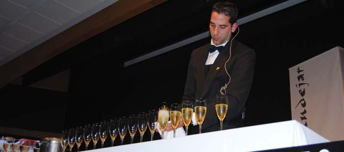 Rafael Reyes, Mejor Sumiller del concurso Teruel Gusto Mudéjar